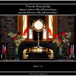 """Eucharistic Lord (Faith-11v)"" by Artists4God"