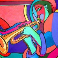 Jazzin#2 Art Prints & Posters by Bryan(Masud) McDowell
