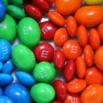 """Rainbow M&Ms"" by DonnaCorless"