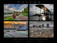 Dayton Four Image Poster Print by Jim Crotty