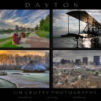 Dayton Four Image Poster Print by Jim Crotty by Jim Crotty
