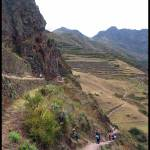 """Hiking near Ollaytaytambo Ruins"" by Jhawk"