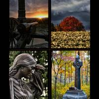 Gettysburg Four Image Poster Print by Jim Crotty by Jim Crotty