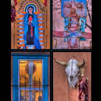 New Mexico Four Image Poster Print by Jim Crotty