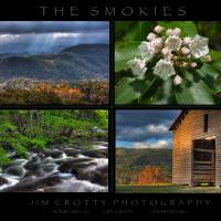 Smoky Mountains Four Image Poster Print by Jim Crotty