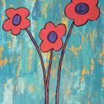 """""""Funky Flowers 2"""" by dpj"""