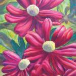 """Pink Daisies"" by dpj"