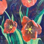"""Red Tulips"" by dpj"