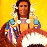 """Native American Indian Sioux Finery"" by Ilovecolor"
