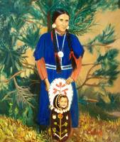 Native American Indian Spokane Woman