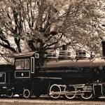 """Train-sepia"" by peacelane"