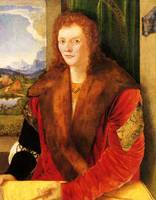 Portrait of a Unknown Lady in a Fur Coat