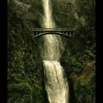 """""""Multnomah Falls"""" by talha"""