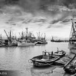 """Steveston Village (BW)"" by talha"