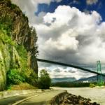 """Lions Gate Bridge"" by talha"