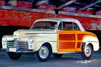 1948 ford super delux sportsman convertible woodie
