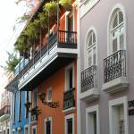 """Colorful Row of Houses"" by jennifergoico"