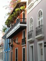 Colorful Row of Houses