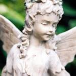 """Garden Fairy Statue Closeup"" by Kani73"