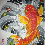 """""""Lucky Koi Fish"""" by CrystalWegner"""