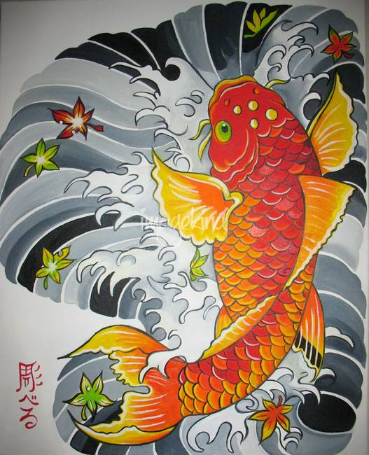 Koi Fish Art HD Wallpaper - Android Apps on Google Play