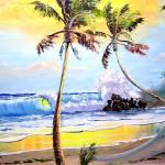 """""""Sunny Seascape"""" by mazz"""