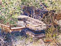 Old Boats, Mills Creek, Mangroves