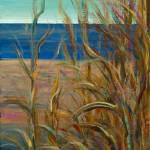 """Summer Grasses at the Beach"" by nadinerippelmeyer"