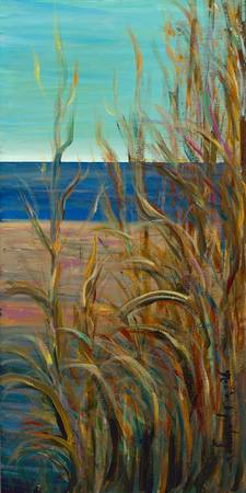 Summer Grasses at the Beach