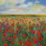 """Poppies"" by creese"