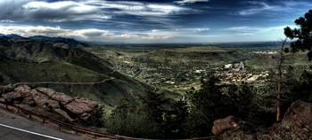 Overlooking Golden Colorado