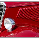 """Classic Car Red 07.14.07_773"" by paulhasara"