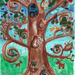 """a tree of life"" by jenniferwoodworth"