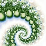 """""""Green Swirl fractal"""" by jennbass"""
