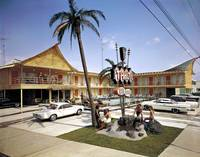 Tahiti Motel 1964 Wildwood, New Jersey Retro Photo
