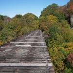 """Rosendale Train Trestle"" by fischer"
