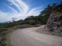 Costa Rica Dirt Road