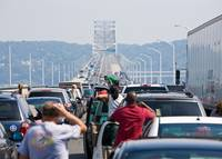 Traffic-Stopping Accident on the Tappan Zee