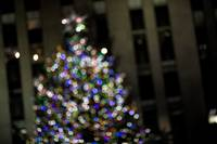 Lights on the Rockefeller Center Christmas Tree