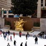 """Skaters in Rockefeller Center"" by tomharrisonphotography"