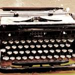 """Typewriter (1)"" by michaelmontesino"