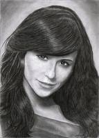 Jennifer Love Hewitt pencil drawing