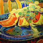 """Grapefruit and Grapes"" by briansimons"