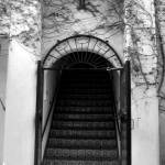 """Staircase at La Arcada Santa Barbara,CA"" by ZarahSolis"