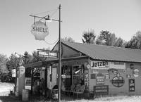 Classic '50's Gas Station