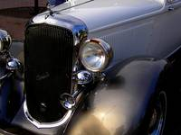 Front Detail 1930 Plymouth