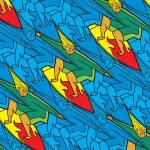 """surfer tessellation"" by nscallfittura"