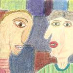 """Family Discussion"" by OutsiderArtist"