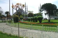 Landscaped Gardens opposite Blue Mosque, Istanbul