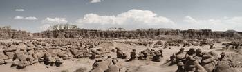 Goblin Valley - Desert Panorama